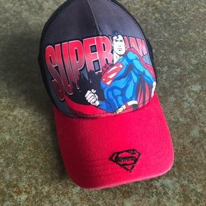 Kids Superman baseball cap